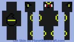 Female Umbreon Minecraft Skin