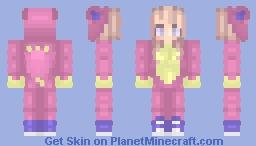 Skitty Onesie (Girl Version) Minecraft Skin