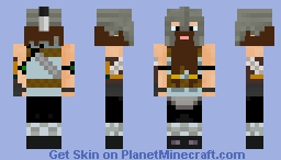 Viking Minecraft Skin