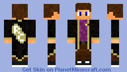 RavenCraft Medewerker Minecraft Skin