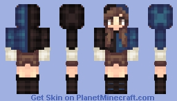 Not white and gold Minecraft Skin