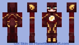 Flash CW (Updated) (Original in desc.) Minecraft Skin