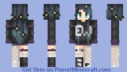 ƁℓυєAηgєℓ ~ '𝓔𝔀' |ℛ𝒆𝓺𝓾𝒆𝓼𝓽𝒆𝓭| Minecraft Skin