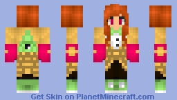 I am back :P (Better in 3D) Minecraft Skin