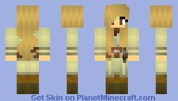 Star Wars Jedi (Female) Minecraft Skin
