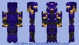 Halo 5 Elite Zealot Minecraft Skin