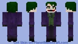 Joker (The Dark Knight) Minecraft Skin