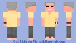 Huell Howser (see desc.) Minecraft Skin