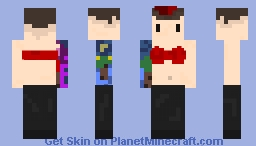 OverWah's Skin [Josh Dun] Minecraft Skin