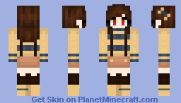 *Little Sansy~* -Outertale Chara ( Re-made ) Minecraft Skin