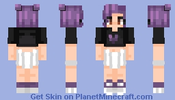 porple Minecraft Skin