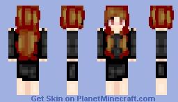 Fire & Ice Minecraft Skin