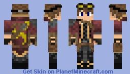 Steampunk Man Minecraft Skin