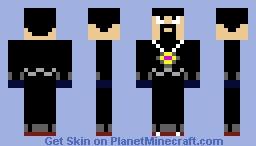 AntVenom Minecraft Skin