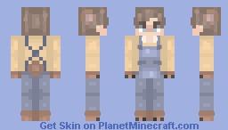 You are my teddy bear~ Minecraft Skin