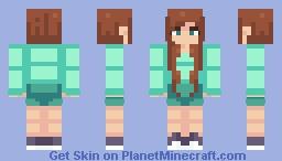 stevette Minecraft Skin