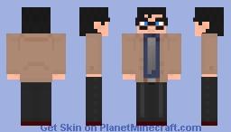 Clark Kent/Superman Double Skin BvS Minecraft Skin