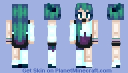♬₵ø~Ѻкḯℯ♬ - Chat with me :D Minecraft Skin