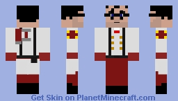 Red Medic (Team Fortress 2) Minecraft Skin