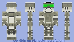 Exo Suit Clone Trooper Minecraft