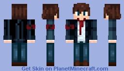 тєє ♥ Guy School Uniform (Looks better in 3D) Minecraft Skin