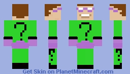 The Riddler 1966 Minecraft Skin