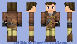 Tank Dempsey (Young) - Call of Duty: Black Ops 3 Zombies [BETTER IN 3D] Minecraft Skin
