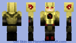 Reverse Flash CW (UPDATED!) Minecraft Skin