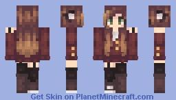 Flames Minecraft Skin