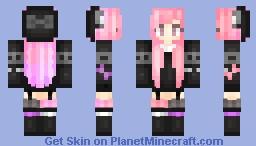 Pinkish Minecraft Skin