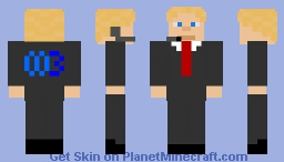 Agent003 Minecraft Skin