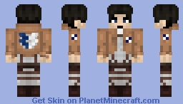 how to get attack on titan skin in minecraft
