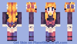 Meggles is best Senpai Minecraft Skin