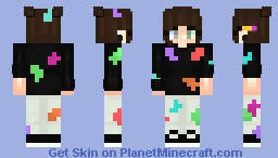 Over-Painted (Girl Version) Minecraft Skin