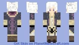 First Skin! FE13 Tactician Female Minecraft Skin