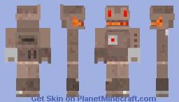 Scrapman Minecraft Skin
