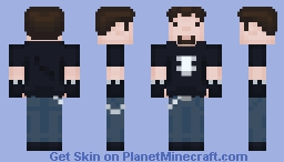 Metal Dude Minecraft Skin