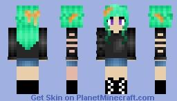 ~Mintish ~ Minecraft Skin