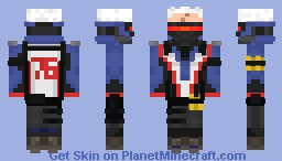 Soldier: 76 | Overwatch Minecraft Skin
