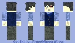 Tokyo Ghoul Kaneki Ken Minecraft Skin