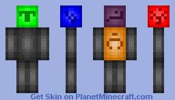 Golem of Sins Minecraft Skin