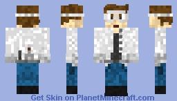Science Student Minecraft Skin