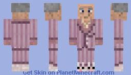 Slughorn in Pyjamas Minecraft Skin