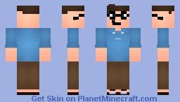 Bill gates Minecraft Skin