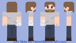 Rick Grimes (Comics) Minecraft Skin