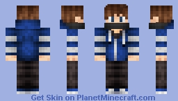 Cool sweater guy :) Minecraft Skin