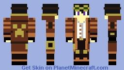 Steampunk Crash Skin Minecraft Skin