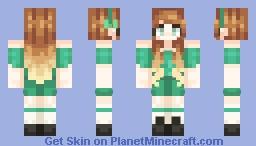 ♡Teal Jumpsuits♡OC♡Amanda♡ Minecraft Skin