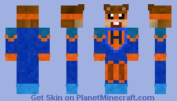 Super Hamster Minecraft Skin