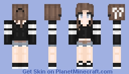 I finally got some inspiration! Minecraft Skin